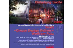 "EVENTO TOP Incontro d'architettura: Wolfram Putz - GRAFT (Berlino) ""Dream Design Deliver"""