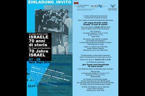 We suggest... Israele 70 anni di storia