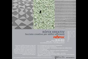 RÖFIX KREATIV facciate creative per edifici efficienti